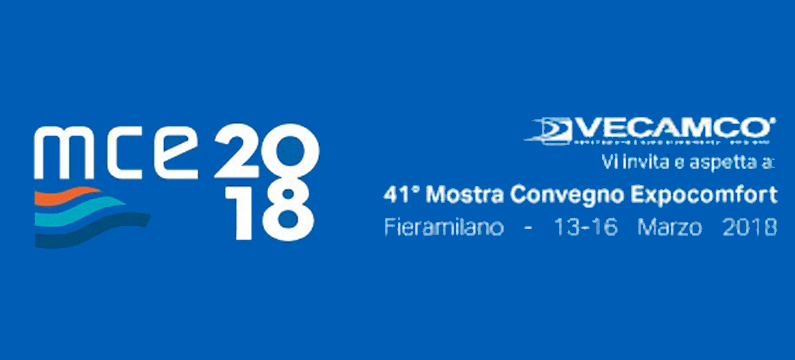 VECAMCO WAS PRESENT AT THE 41st EDITION OF THE MCE FAIR IN MILAN