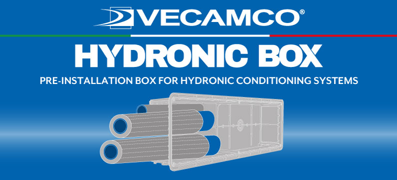 PRE-INSTALLATION BOX FOR HYDRONIC AIR CONDITIONING SYSTEMS
