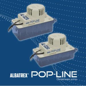 pompe centrifughe pop line per condizionamento